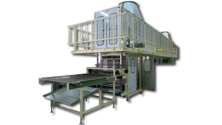 cooler for instant noodle production system