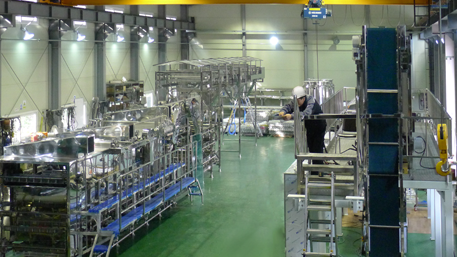 long life fresh noodle production system